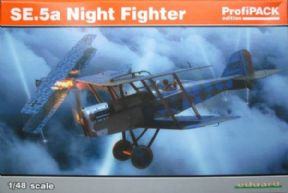 EDK82133 1/48 Royal-Aircraft-Factory SE.5a Night Fighter